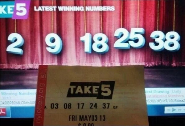 Bad luck at the lottery