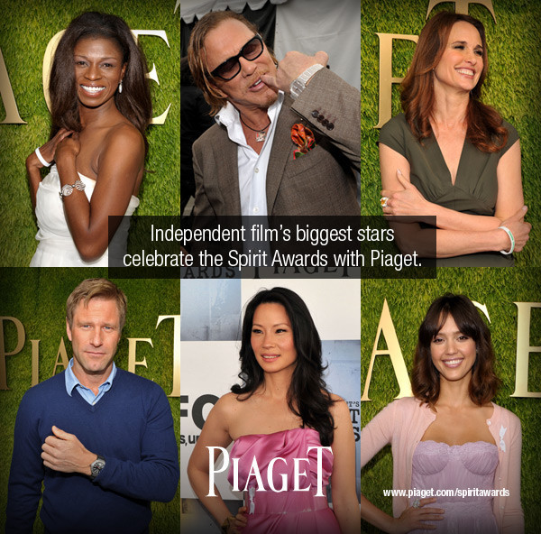 Piaget Spirit awards winners and pictures