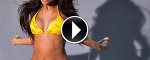 Sexy Bikini Girl in Slow Motion