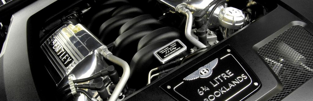 Le moteur V8 BENTLEY ENGINE