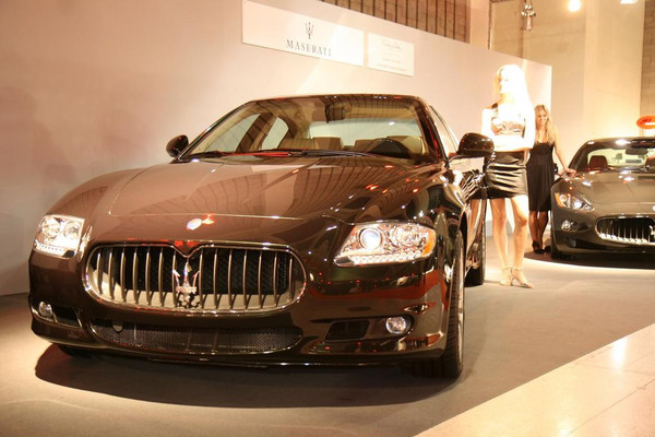 Maserati Quattroporte (Motion Prague)