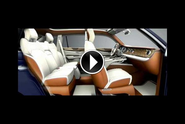 Video of the Bentley EXP 9 F